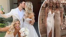 Miss Universe Australia Renae Ayris marries in fairytale wedding