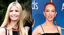 Kathy Griffin is calling out Ivanka Trump for her Kate Spade tweet: 'You're all talk'
