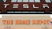 Tesla kiosks coming to a Home Depot near you