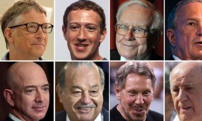secret of wealth, given to us by these                           billionaires: