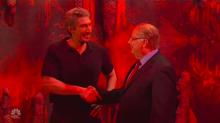 'Saturday Night Live': Adam Driver Plays Jeffrey Epstein in Hell With Jon Lovitz as Alan Dershowitz (Watch)