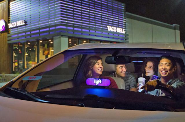 Lyft's Taco Bell mode indulges your late-night cravings