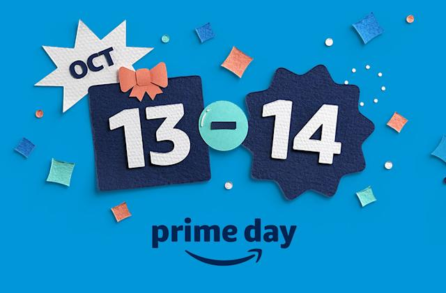 Amazon's two-day Prime Day event kicks off October 13th