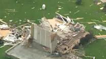 Genesee County tornado damage