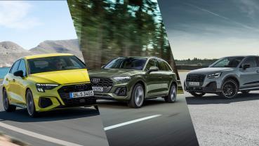 新世代 Audi A3 SB / Q5 / Q2 預售 140 萬起,SQ2 熱血首登台