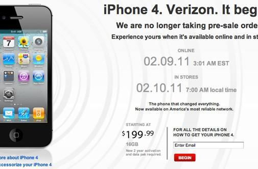 Verizon halts iPhone pre-orders, brings back everyone's favorite technician for new ad (video)