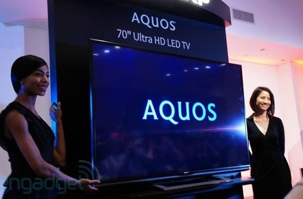 Sharp announces first THX-certified 4K TV, the $8,000 Aquos Ultra