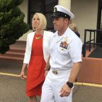 The Latest: Witness says he saw Navy SEAL stab prisoner
