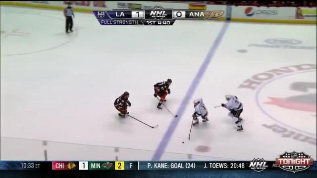 Los Angeles Kings at Anaheim Ducks - 01/23/2014