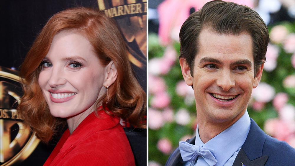 Andrew Garfield To Play Jim Bakker Opposite Jessica Chastain In The Eyes Of Tammy Faye