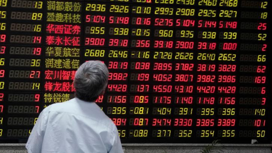 Asian stocks choppy, sentiment shaken by sliding yuan