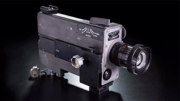 Neil Armstrong kept the original moon landing camera in his closet
