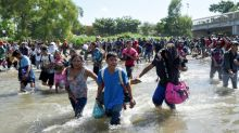 Mexican troops repel border-storming migrant caravan