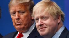 Boris Johnson 'unreservedly condemns' Donald Trump for encouraging supporters to storm US Capitol