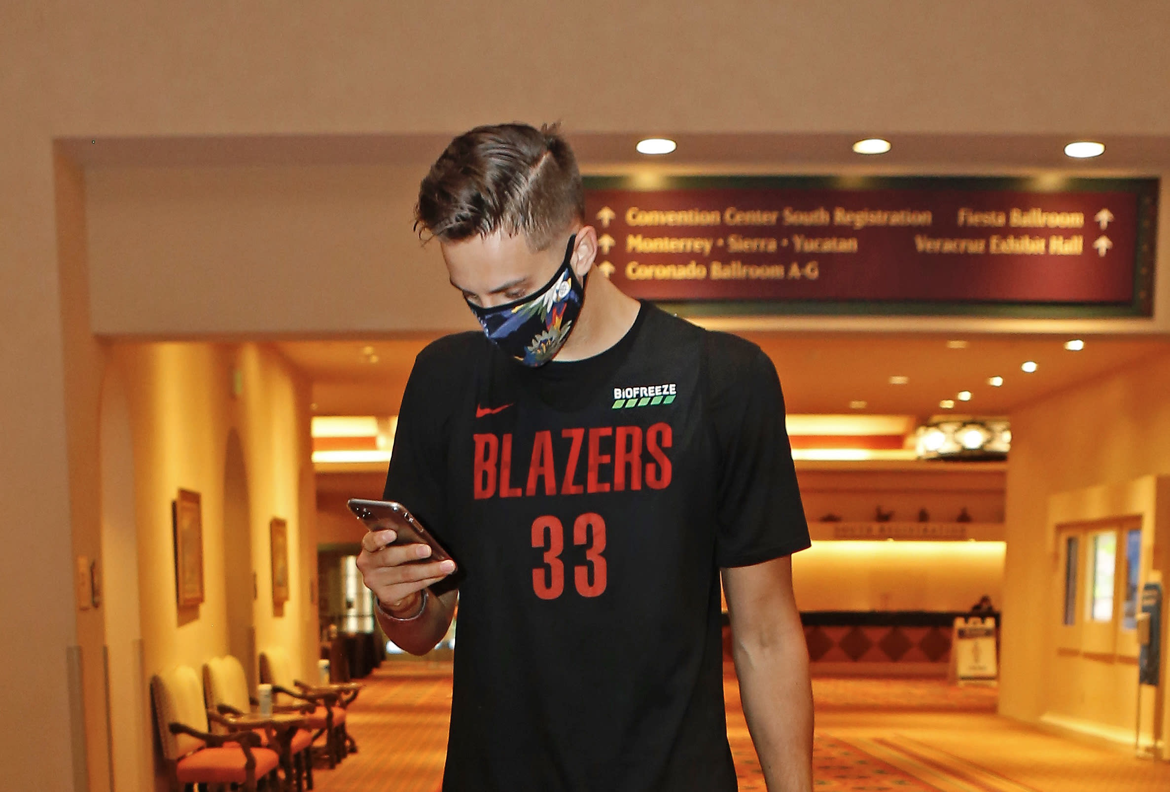 Zach Collins raises Portland's hopes for Game 7 and a
