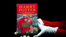 Super-rare Harry Potter book with title misspelling sells for nearly £70k at auction