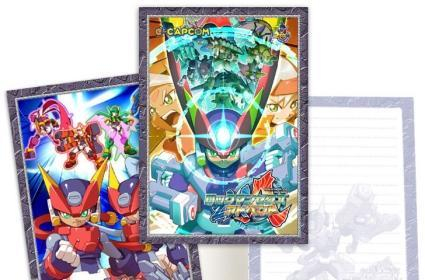 Rockman ZX Advent notepad to carefully avoid writing on