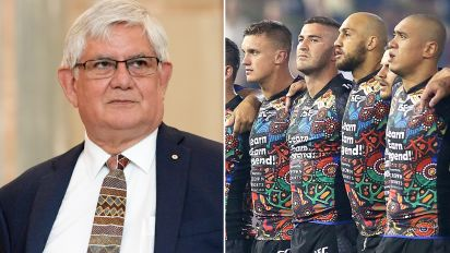 Indigenous minister's curious take on NRL anthem debate