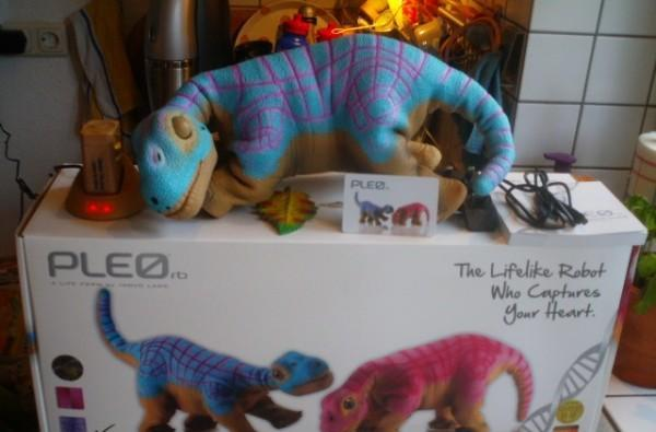 Pleo Reborn detailed by Innvo CEO, one lucky fan finds and buys the tiny dino (video)