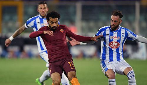 Serie A: 33. Spieltag: Roma festigt Rang zwei gegen Pescara
