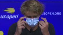 """US Open - Zverev : Sans Djokovic, """"ça devient vraiment intéressant"""""""