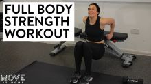 6-minute full body strength workout | Move At Home