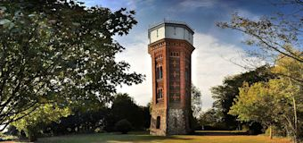 England's ultimate socially-distanced stay, inside a 60-foot water tower