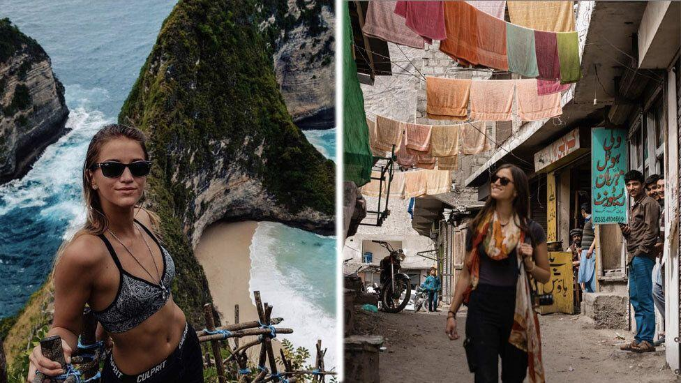 World breaking Instagram model visits 196 countries by age 21