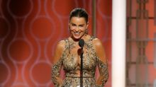 Sofia Vergara's inappropriate NSFW joke falls flat at the Golden Globes