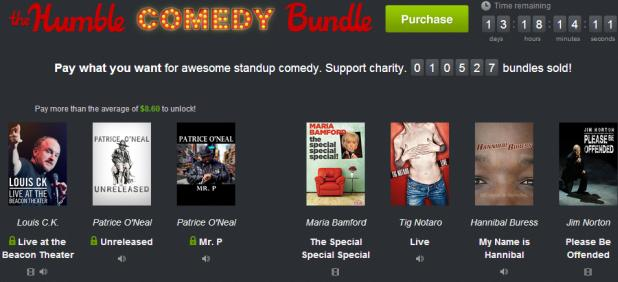 Humble Comedy Bundle lets you pay what you want for laughs, big spenders get Louis CK