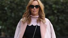 Amanda Holden just wore the perfect back to work skirt (it's under £30 from M&S)