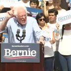Bernie Sanders holds rally in Santa Ana ahead of Super Tuesday primary