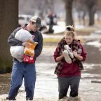 Homes flooded across the Midwest after heavy rain and snowmelt