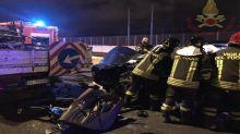 Roma, incidente sulla Tangenziale Est: grave automobilista
