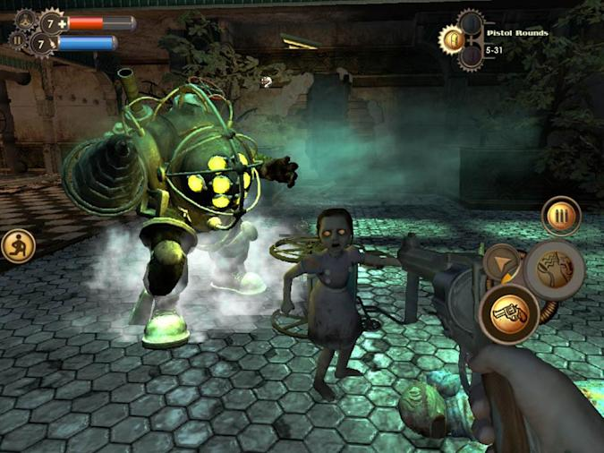 The original BioShock is headed to iOS this summer