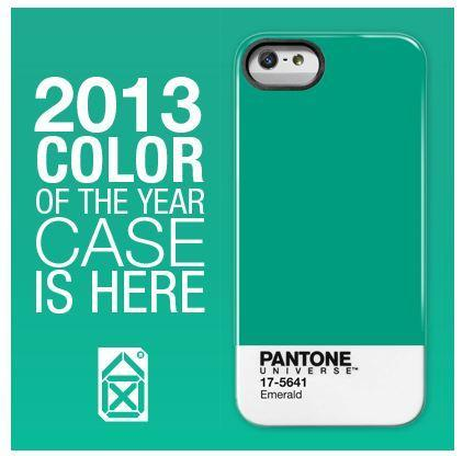 Case Scenario lets you get a jump on the 2013 Pantone Universe Color of the Year