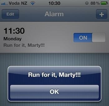 iOS alarms broken for New Zealand users after Daylight Saving