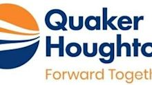 Quaker Houghton Announces Retirement of Robert E. Chappell as Director After 23 Years of Service and Appointment of Charlotte C. Decker as New Board Member
