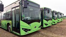 Los autobuses eléctricos chinos 'invaden' Latinoamérica