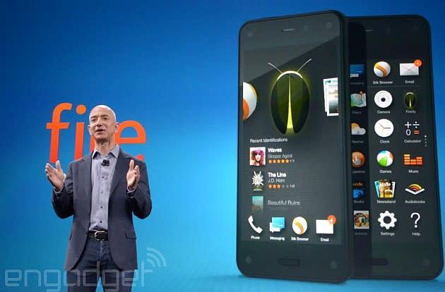 Watch Jeff Bezos unveil Amazon's new Fire phone (video)