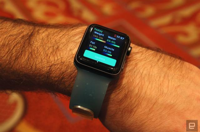 Aura squeezes its fitness band into an Apple Watch 'Smart Strap'