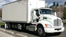 Capstone Successfully Completes Track Testing of Kenworth Microturbine-Powered Hybrid Electric Truck