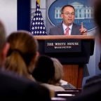 Trump administration tries to walk back Mulvaney's Ukraine comments
