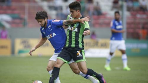 América-MG e Cruzeiro empatam em jogo de ida da semifinal do Mineiro