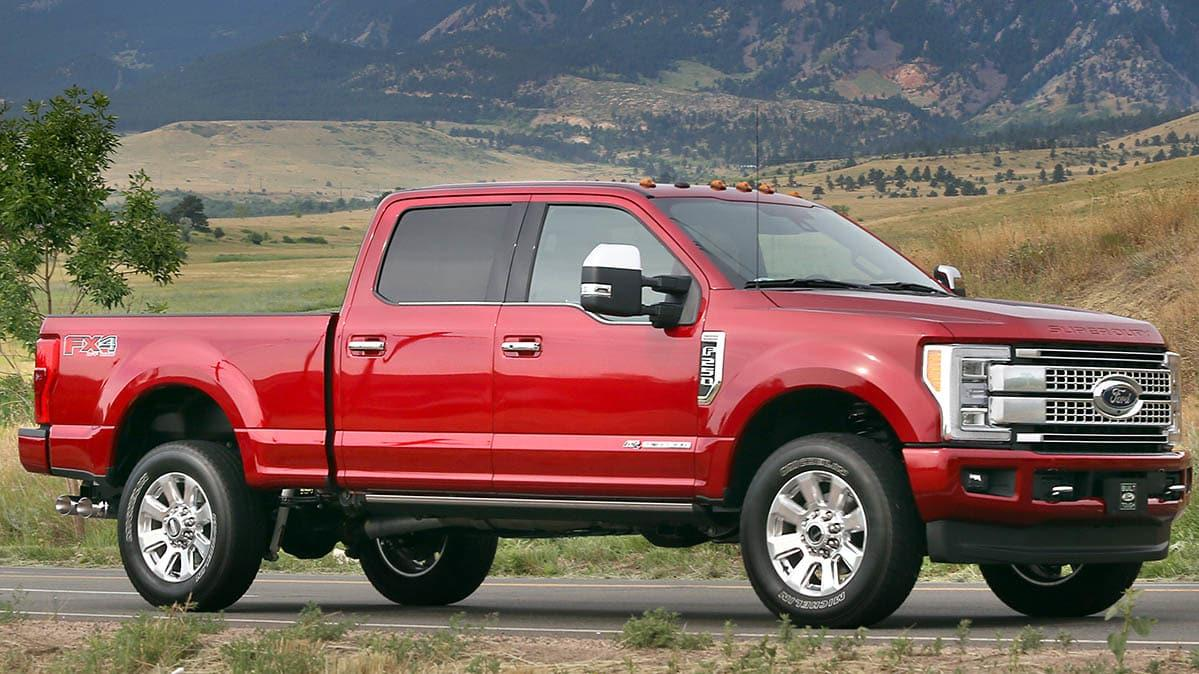 ford recalls full sized pickup trucks due to engine fire risk. Black Bedroom Furniture Sets. Home Design Ideas