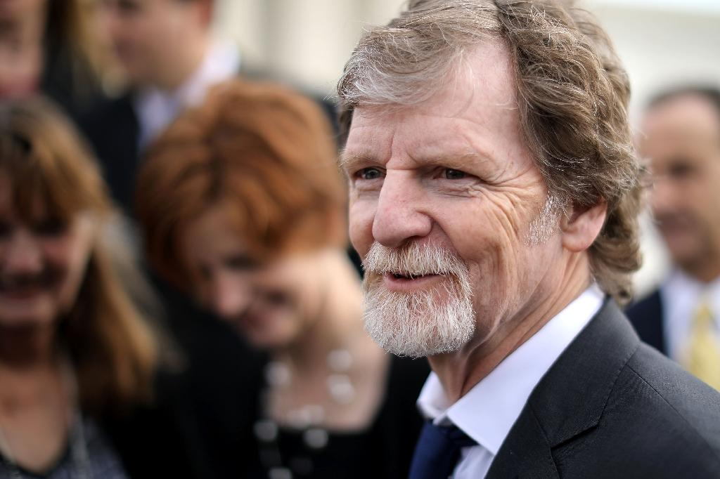 Conservative Christian baker Jack Phillips, pictured in 2017, is headed for a new showdown with the state of Colorado, this time over a birthday cake for a transgender woman