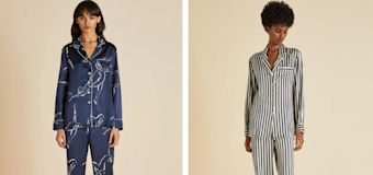 Best luxury silk pyjamas for women