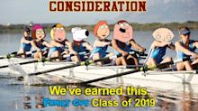 'Family Guy' Pokes Fun at the College Admissions Scandal with Hilarious Emmys Ad: 'We've Earned This'