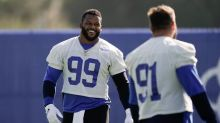Aaron Donald wants to see fans at new SoFi Stadium this fall