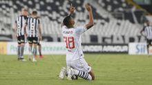 Ygor se emociona com primeiro gol pelo Vasco: 'Sonho realizado'
